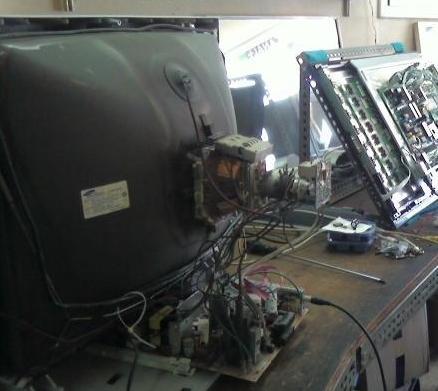Reparación de televisores convencionales